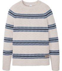 maglione con cotone riciclato (grigio) - john baner jeanswear