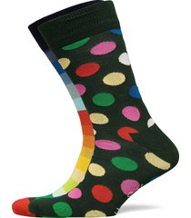 2-pack classic holiday socks gift set underwear socks regular socks multi/mönstrad happy socks