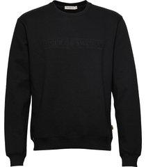 tana emb sweat-shirt trui zwart tiger of sweden jeans