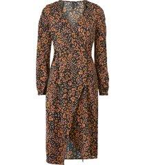 klänning vmsandra lillian l/s wrap dress