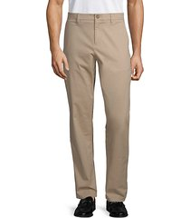 stretch-cotton chino pants
