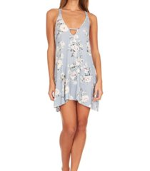 flora nikrooz collections lucca printed knit chemise nightgown