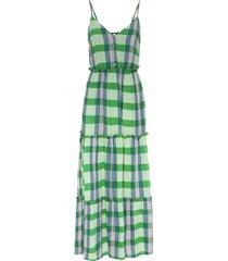 abito midi con bottoni (verde) - bodyflirt boutique