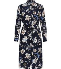 byilena shirt dress - knälång klänning blå b.young