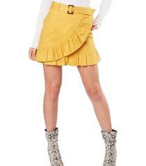 falda vuelo amarillo bhora