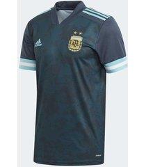 camiseta azul adidas visitante argentina hombre