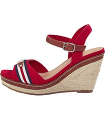 sandaletter liva loop röd