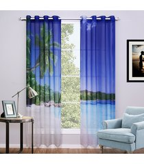 2-pieces-lot-3d-voile-curtains-beach-printed-curtain-for-bedroom-and-living-room