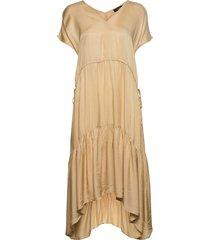 slnikaia dress maxiklänning festklänning gul soaked in luxury