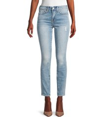 7 for all mankind women's super skinny ankle jeans - topanga - size 23 (00)