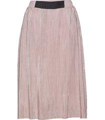 molina skirt knälång kjol rosa kaffe