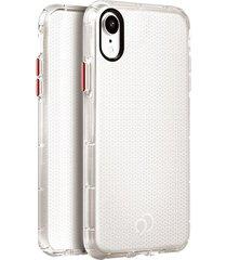 estuche protector nimbus9 phantom2 iphone xr - transparente