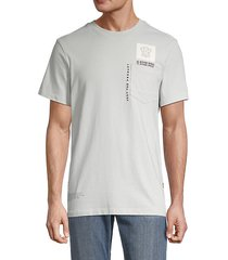 multi logo pocket t-shirt