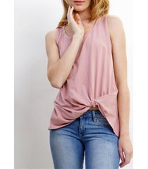 coin 1804 womens cotton twist tank