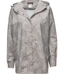 cape outerwear rainwear rain coats grå rosemunde