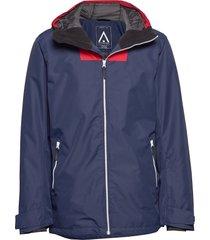 block jacket outerwear sport jackets blå wearcolour