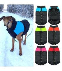 harness dog puppy vest waterproof pet dog jacket dog clothes coat 4 colors s-5xl