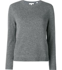 chinti and parker fitted cashmere sweater - grey