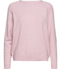 onllesly kings l/s pullover knt noos stickad tröja rosa only