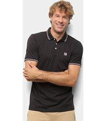 camisa polo fila premium masculina - masculino