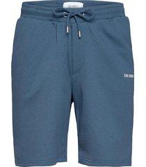 lens sweatshorts shorts casual blauw les deux