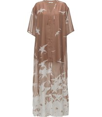 layla placement print dresses everyday dresses rosa j. lindeberg