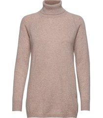 raglan turtleneck loose sweater turtleneck coltrui roze davida cashmere