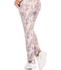 11400 palo rosa pantalón de bolsillos