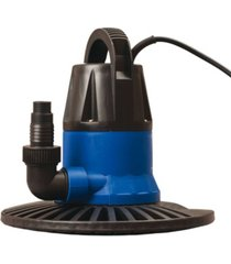 blue wave sports super dredger 2450 gph in-ground winter cover pump with base