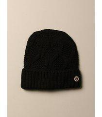 colmar hat colmar hat in knitted braids with logo