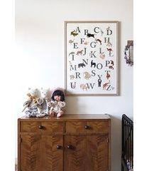 plakat z alfabetem 50x70cm