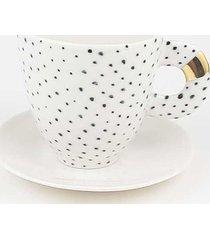 filiżanka porcelanowa b&w do kawy