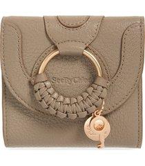 women's see by chloe hana leather billfold wallet -