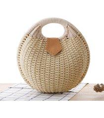 ven 2017 nest tote handbag straw woven women rattan bag fashion design summer fr