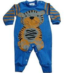 macacão roupas bebe top recem nascido enxoval batizado manabana azul