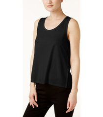 eileen fisher system silk jersey tank top, regular & petite