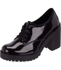bota coturno clube do sapato de franca montividéu verniz preto