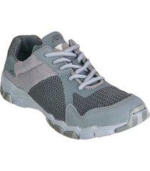 zapatos clicon aeroflex gris claro gris oscuro tr2899