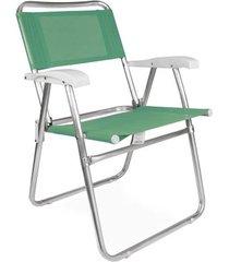 cadeira master alumínio fashion - anis