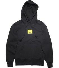 classic logo hoodie black and yellow