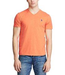 camiseta naranja polo ralph lauren m classics orange