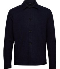 majules collar overshirts blauw matinique