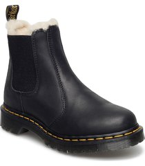 2976 leonore black burnished wyoming shoes boots ankle boots ankle boot - flat svart dr. martens