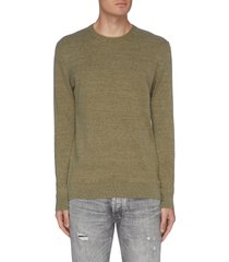 'cadet' crewneck sweater