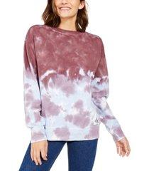 calvin klein jeans high tide tie-dyed crewneck sweatshirt