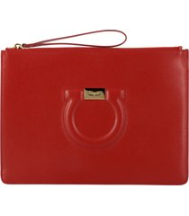 salvatore ferragamo clutch salvatore ferragamo leather clutch bag with mediterranean hook