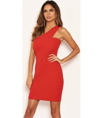 ax paris women's one shoulder cut out bodycon dress