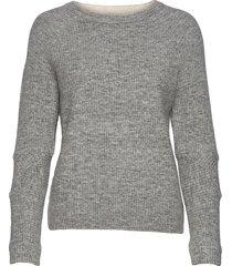 bravo stickad tröja grå fall winter spring summer