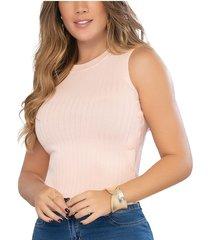 blusa country rosa para mujer croydon