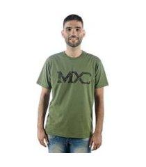camiseta mxc brasil logo militar masculina